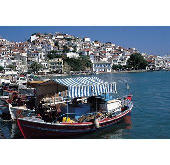 Koukounaries og strenderne på Skiathos - Hellas