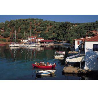 Området ved byen Pigadi - Hellas