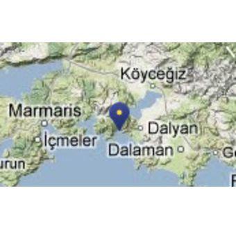Landsbyen Ekincik Limani - Tyrkia