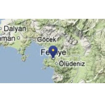 Byen Fethiye - Tyrkia