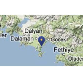 Bukten Tomb Bay - Tyrkia