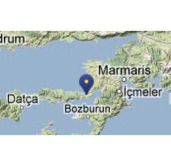 Bozburun By - Tyrkia