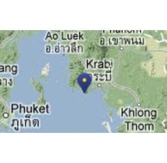 Rai Le Beach, Krabi regionen - Phuket