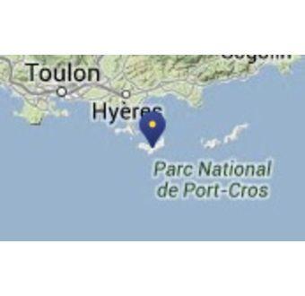 Øen Ile de Porquerolles - Frankrike
