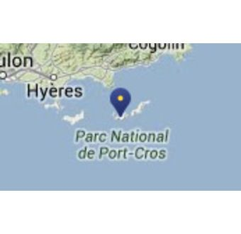Ile de Port Cros - Frankrike