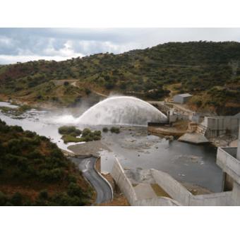 Alqueva-dæmningen - Portugal