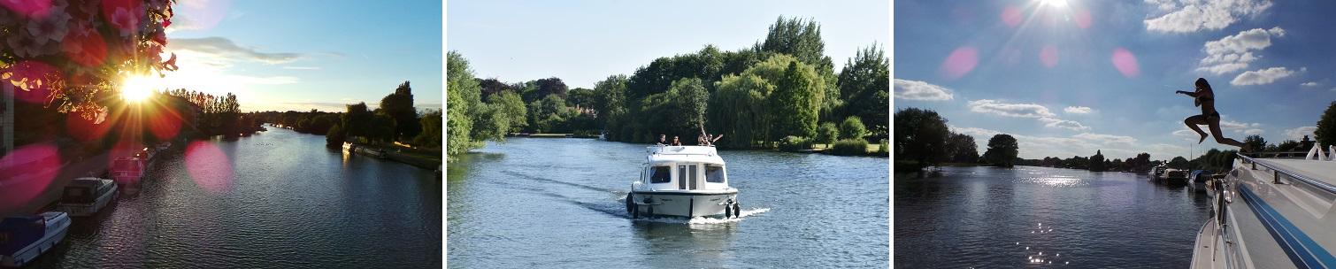 Kanalbåte i England