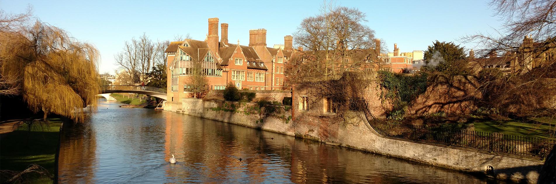 Kanal ved Cambridge
