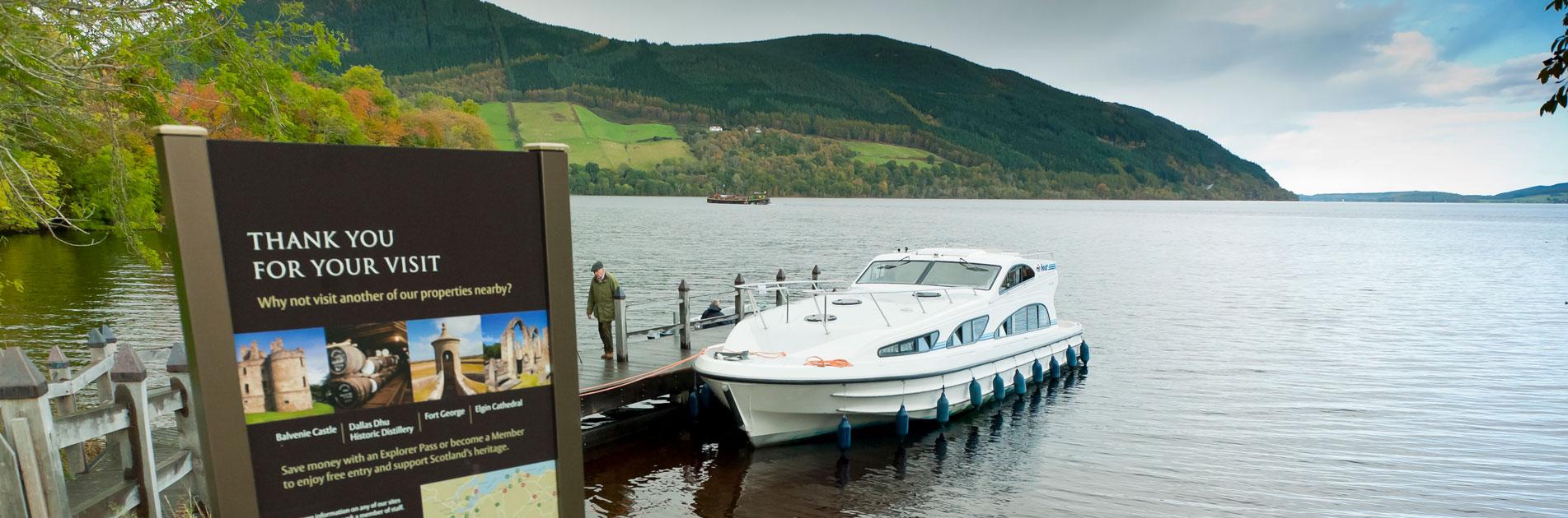 Elvebåt i Skottland