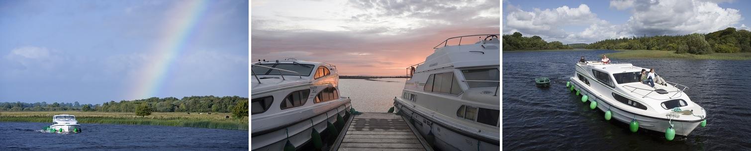 Kanalbåte i Irland