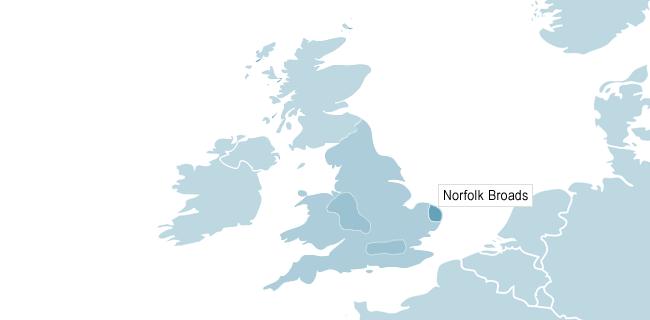 Kart over Cambridge