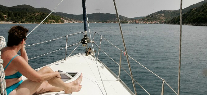 Lefkas - en ukes tur i det varme joniske hav